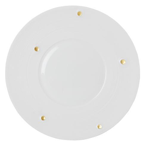 Satin & Gold Charger Plate