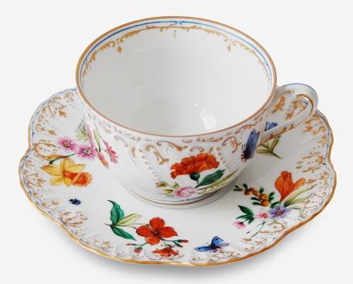 $447.00 Tea Cup & Saucer