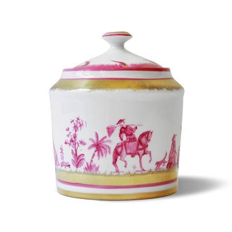 Pinto Paris  Chinoiserie Sugar Bowl $418.00