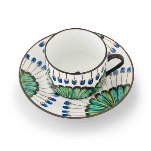 Pinto Paris  Bahia Tea Cup and Saucer $359.00