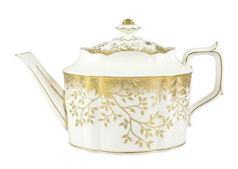 Royal Crown Derby  Arboretum Gold Large Tea Pot $645.00