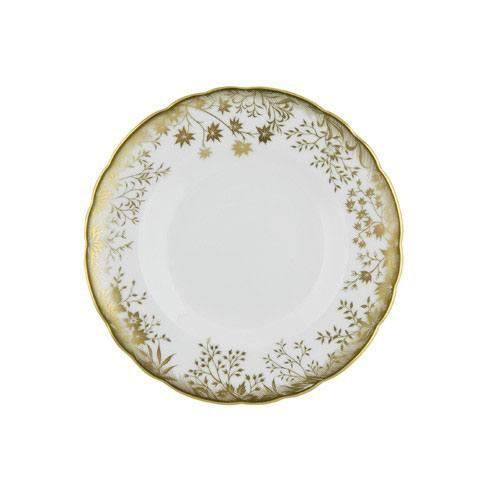 Royal Crown Derby  Arboretum Gold Bread and Butter Plate $105.00