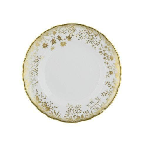 Royal Crown Derby  Arboretum Gold Salad Plate $140.00