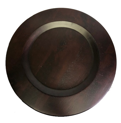 $45.00 Mix Bois Wood Charger Plate