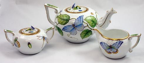 $725.00 Butterfly Tea Set