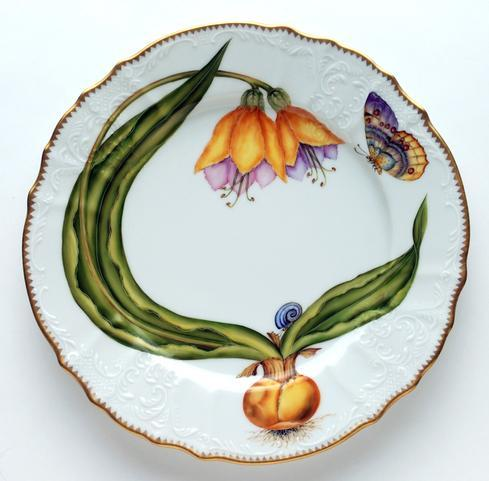 Anna Weatherley  Flowers of Yesterday Yellow Buttercup Dinner Plate $450.00