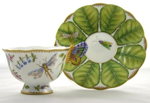 $498.00 Butterfly Cup & Saucer
