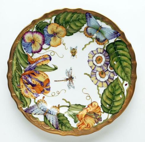 $498.00 Ornate Dinner Plate