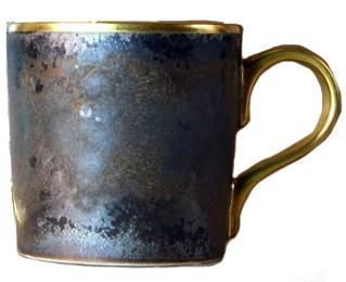 Jaune de chrome  Aguirre - Gold Finition Coffee Cup $110.00