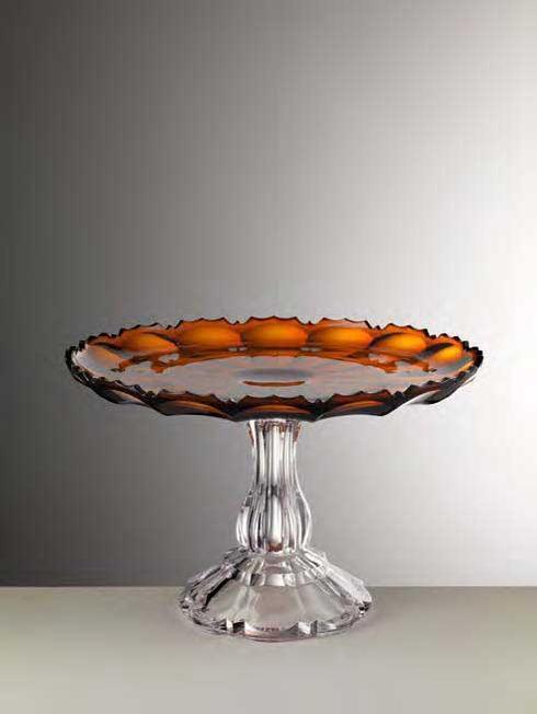 $180.00 Amber Cake Plate