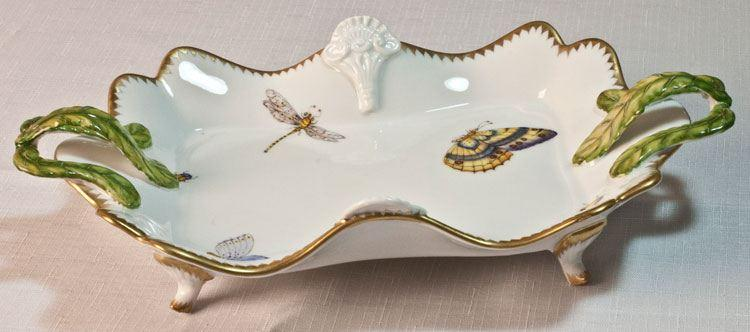 $398.00 Ornate Tray with Handles
