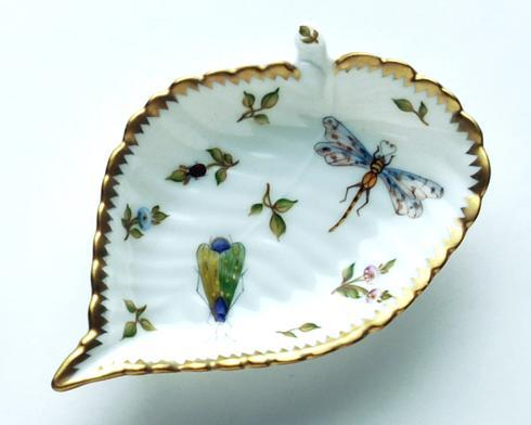 Bee, Grasshopper, & Ladybug Leaf Ring Dish