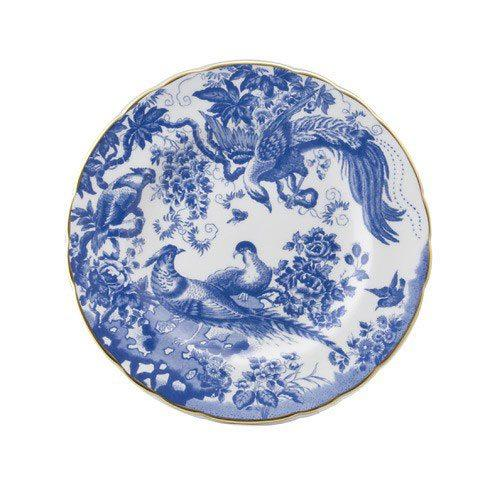 Royal Crown Derby  Aves - Blue Salad Plate $112.00