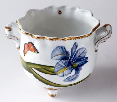 $485.00 Floral Round Ruffled Cachepot