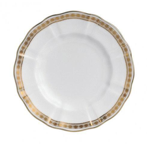 Royal Crown Derby  Carlton Gold Bread and Butter Plate $85.00