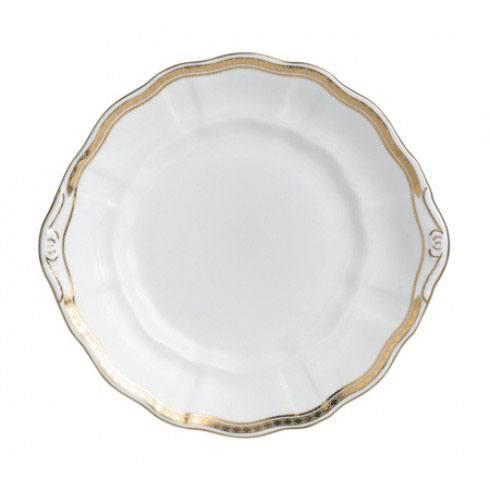 Royal Crown Derby  Carlton Gold Cake Plate $144.00