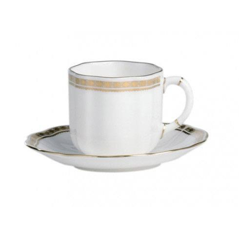 Royal Crown Derby  Carlton Gold Coffee Saucer $46.00