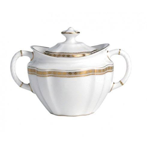 Royal Crown Derby  Carlton Gold Covered Sugar Bowl $244.00