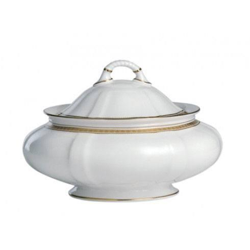 Royal Crown Derby  Carlton Gold Covered Vegetable Dish $564.00