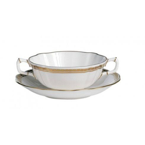 Royal Crown Derby  Carlton Gold Cream Soup Cup $140.00