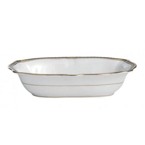 Royal Crown Derby  Carlton Gold Open Vegetable Dish $264.00