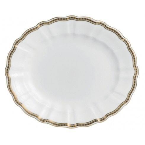 Royal Crown Derby  Carlton Gold Medium Platter $378.00