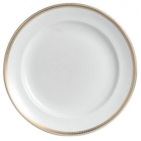 Royal Crown Derby  Carlton Gold Round Chop Dish $465.00