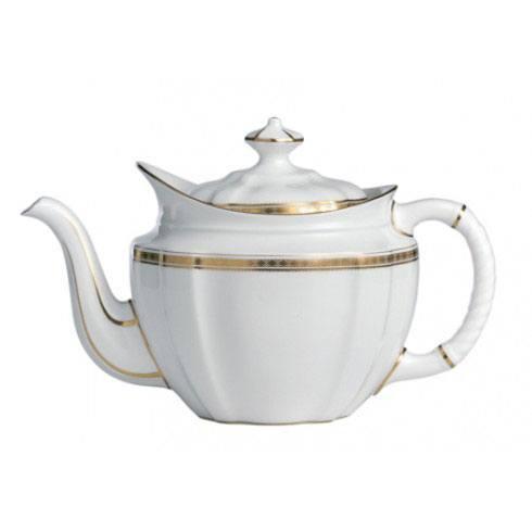 Royal Crown Derby  Carlton Gold Tea Pot $456.00