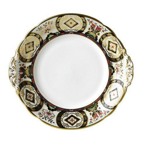 Royal Crown Derby  Chelsea Garden Cake Plate $218.00