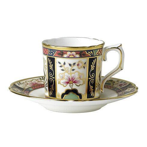 Royal Crown Derby  Chelsea Garden Coffee Cup $114.00