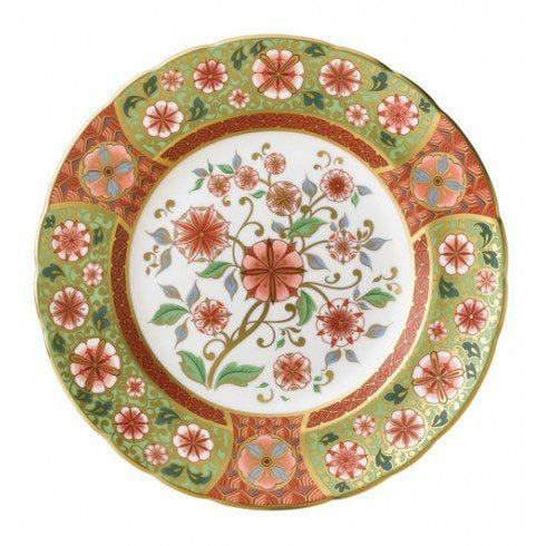 Royal Crown Derby  Imari Accent Cherry Blossom Plate in Gift Box $244.00