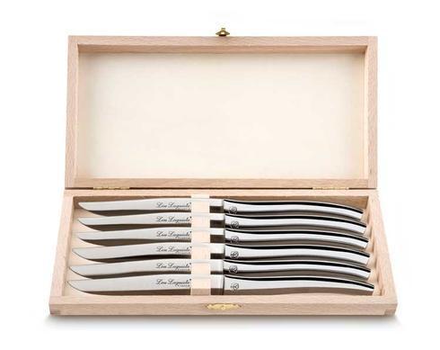 """Couzon Steak Knives Lou Laguiole Set of 6 """"Bee"""" Steak Knives $148.00"""