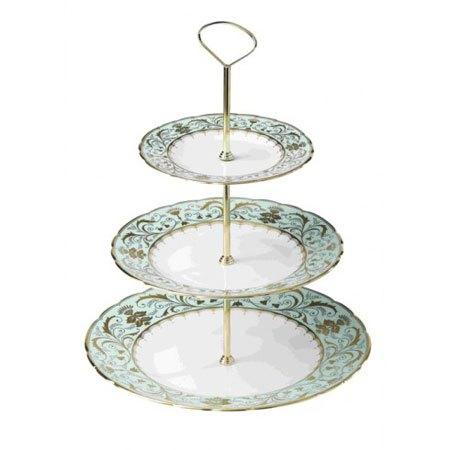 Royal Crown Derby  Darley Abbey Three Tier Cake Stand $355.00