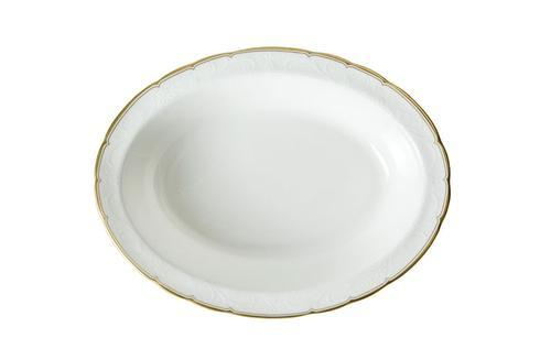 Royal Crown Derby  Darley Abbey Pure - Gold Open Vegetable Dish $140.00