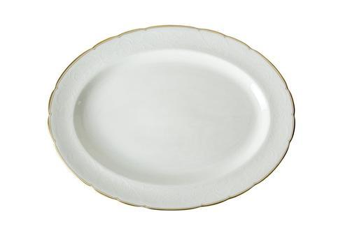 Royal Crown Derby  Darley Abbey Pure - Gold Large Oval Platter $158.00