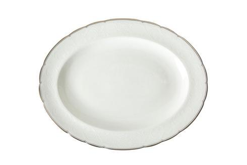 Royal Crown Derby  Darley Abbey Pure - Platinum Small Oval Platter $120.00
