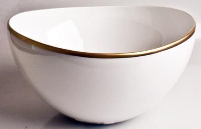 Anna Weatherley  Simply Elegant - Gold Open Vegetable Bowl $130.00