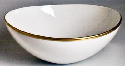 Anna Weatherley  Simply Elegant - Gold Cereal Bowl $52.00
