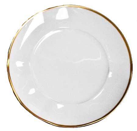 Anna Weatherley  Simply Elegant - Gold Salad Plate $39.00