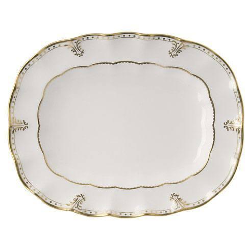 Royal Crown Derby  Elizabeth - Gold Large Platter $776.00