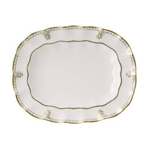 Royal Crown Derby  Elizabeth - Gold Medium Platter $694.00