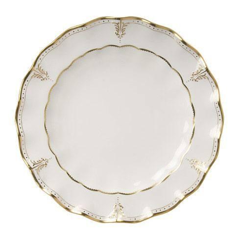 Royal Crown Derby  Elizabeth - Gold Round Chop Dish $750.00