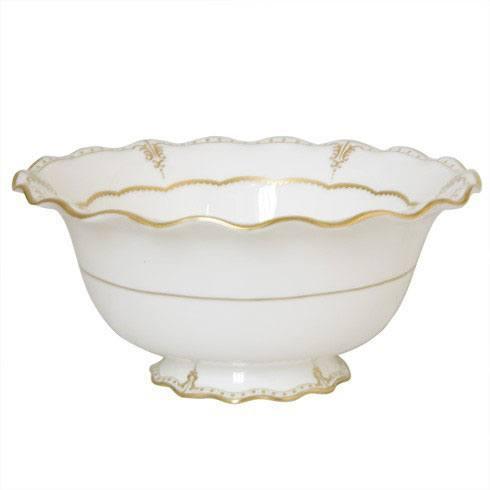 Royal Crown Derby  Elizabeth - Gold Salad Bowl $776.00
