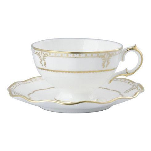 Royal Crown Derby  Elizabeth - Gold Tea Cup $124.00