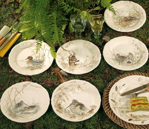 Dessert Plates - Asst'd Animals, Boxed Set Of 6