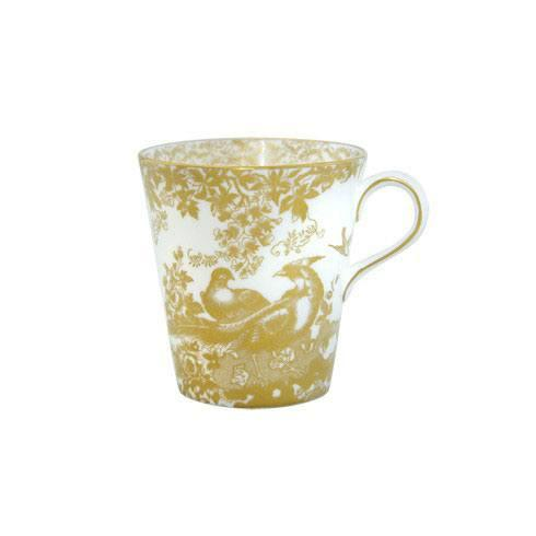 Royal Crown Derby  Aves - Gold Beaker $130.00