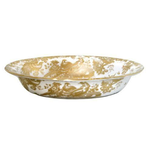 Royal Crown Derby  Aves - Gold Open Vegetable Dish $482.00