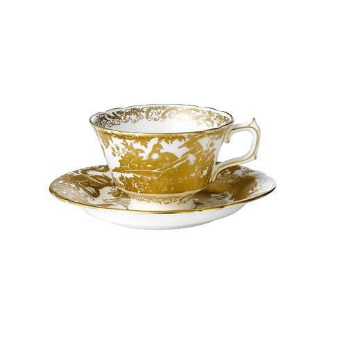 Royal Crown Derby  Aves - Gold Tea Cup $155.00