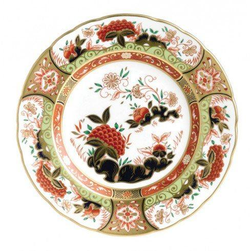 Royal Crown Derby  Imari Accent Golden Peony Plate in Gift Box $244.00