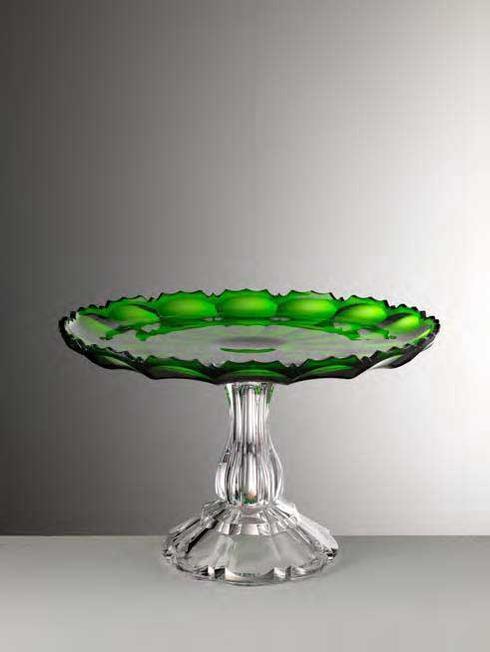 $180.00 Green Cake Plate
